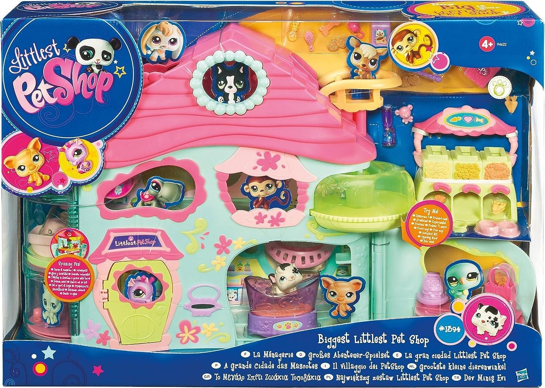 Amazon.es: Littlest Pet Shop Hasbro Gran Ciudad de Pet Shop ...