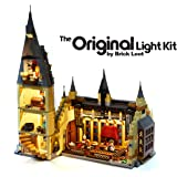 LED Lighting Kit for Lego Harry Potter Hogwarts Great Hall - 75954 - Custom Designed - Handmade - Durability Tested - Compatible with Lego and All Major Brands