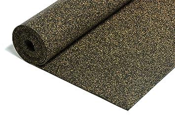 Fußboden Kork Dämmung ~ Gummi korkmatte trittschalldämmung m² mm ☆ extrem belastbar