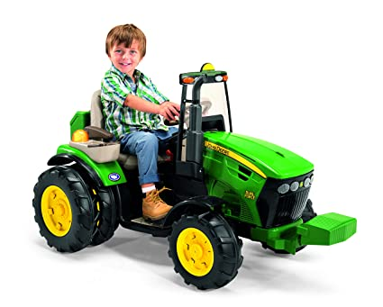 dbf71a65bd Image Unavailable. Image not available for. Color: Peg Perego John Deere  Dual Force ...