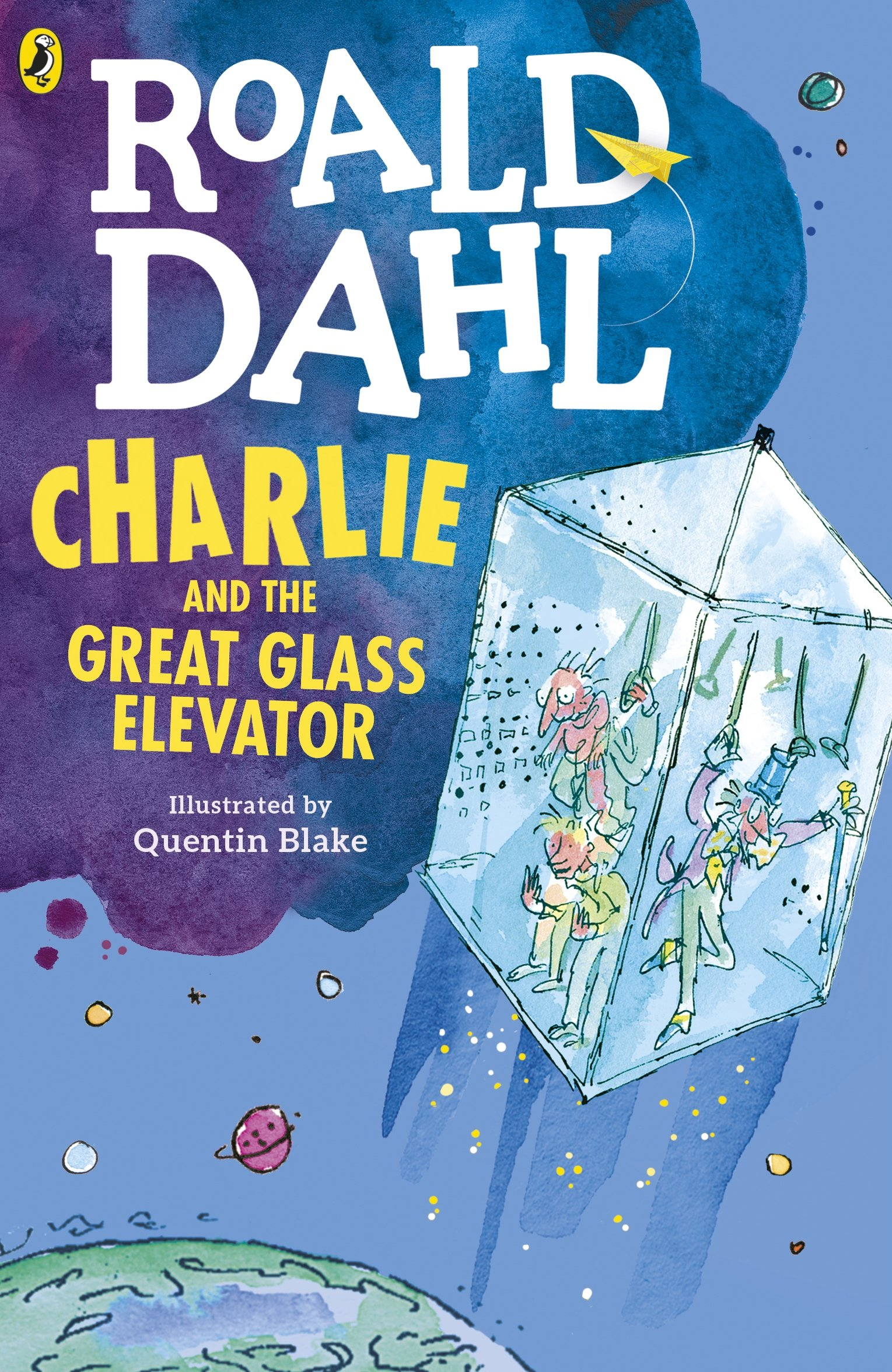 Charlie and the Great Glass Elevator (Dahl Fiction): Amazon.co.uk ...