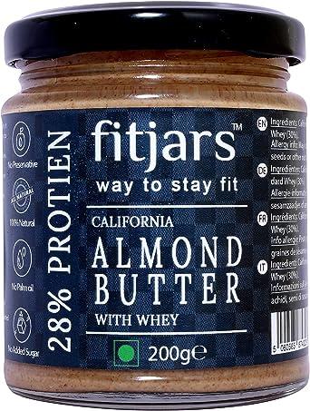 Fitjars High Protein - Almendra Mantequilla Gold Standard Whey ...
