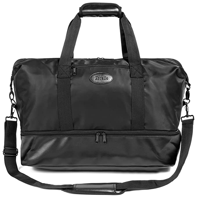 0b9429409530 Studio Tote Bag for Women: Gym Bag, Workout, Sports, Dance, Weekender,  Overnight, Work Bag; Shoulder Carry On Bags Travel Luggage; Shoe  Compartment ...