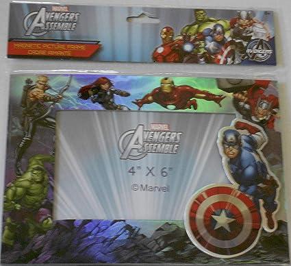 Marvel Thor Iron Man Hulk 4x6 Picture Frame