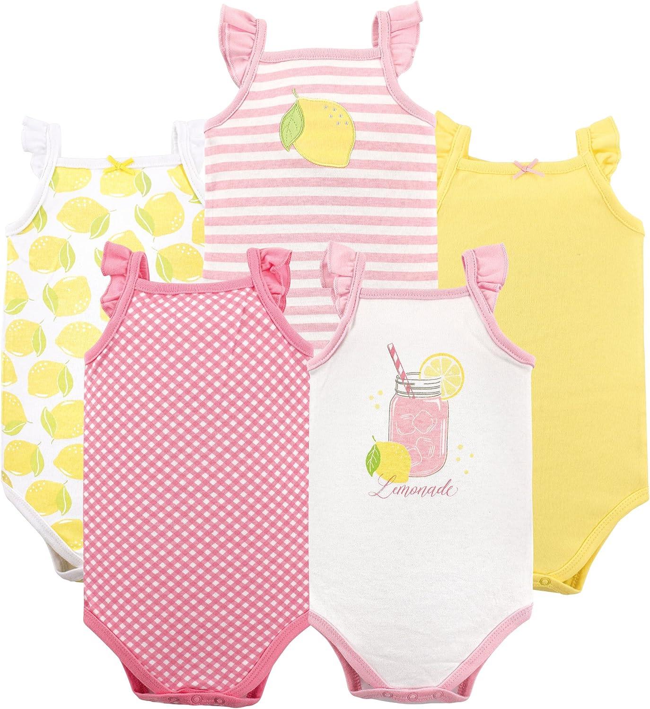 Hudson Baby Unisex Baby Sleeveless Cotton Bodysuits