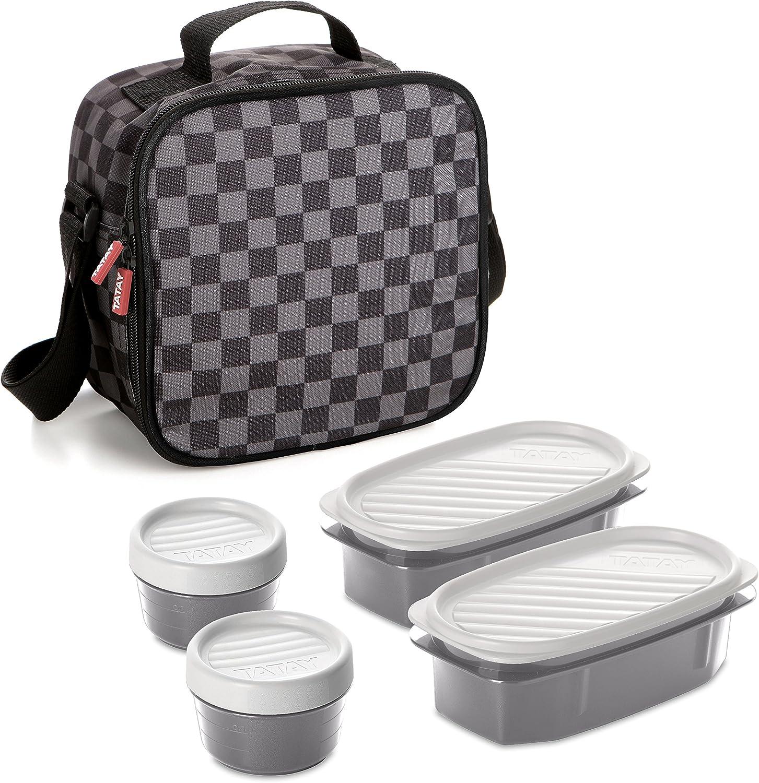 TATAY Urban Food Kit, Polyester, Grey, One Size
