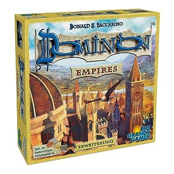 Rio Grande Games 22501410 Dominion Empires - Ampliación de Juego ...