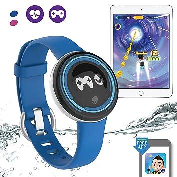 PAI Technology PaiBand - Monitor de actividad para niños IP67 resistente al agua, monitor de