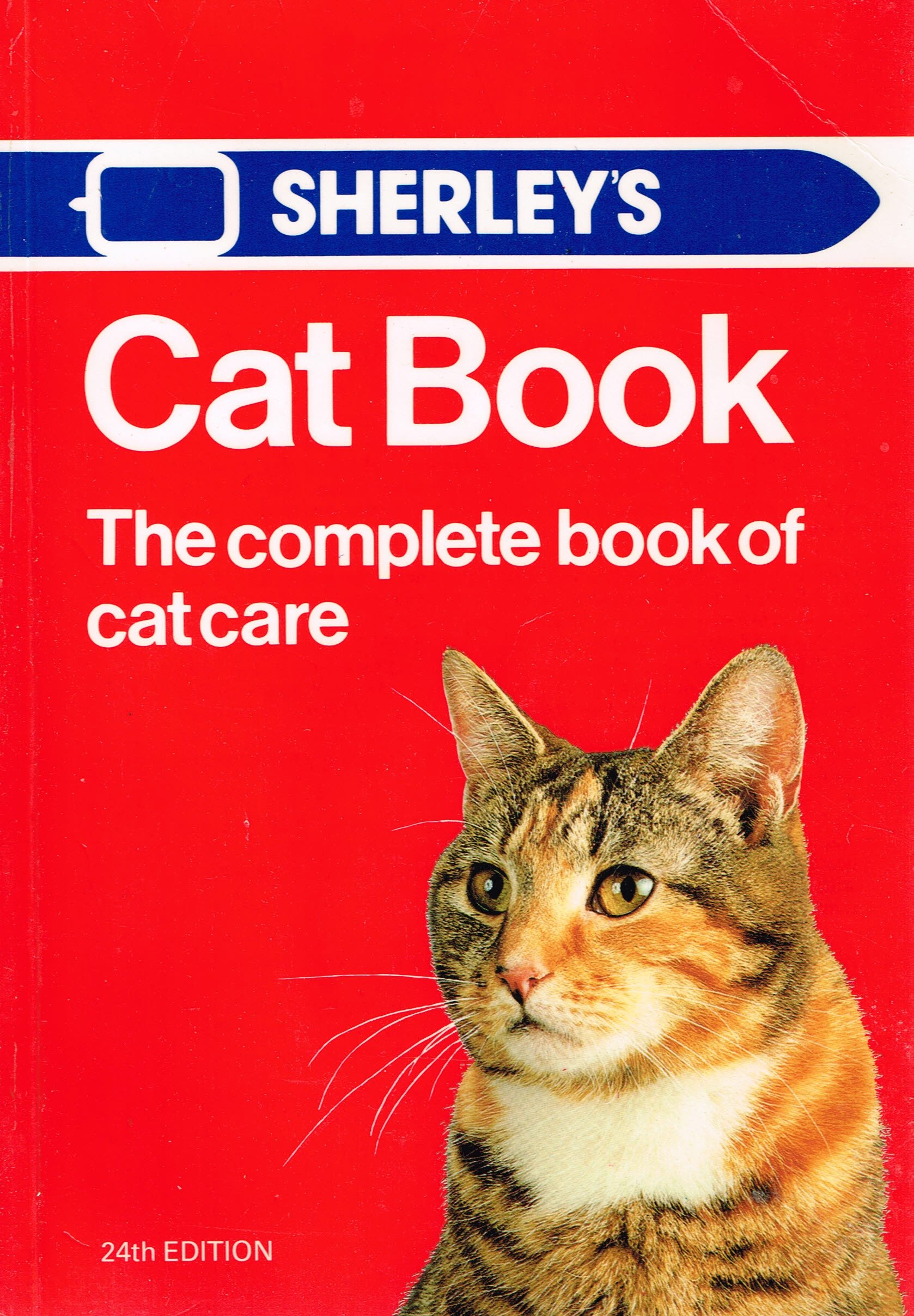 Sherley's cat book: The complete book of cat care