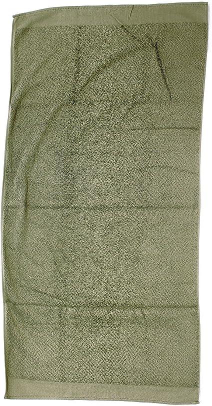 Original Bundeswehr Handtuch 100 x 50cm Frottee Oliv Baumwolle NEU