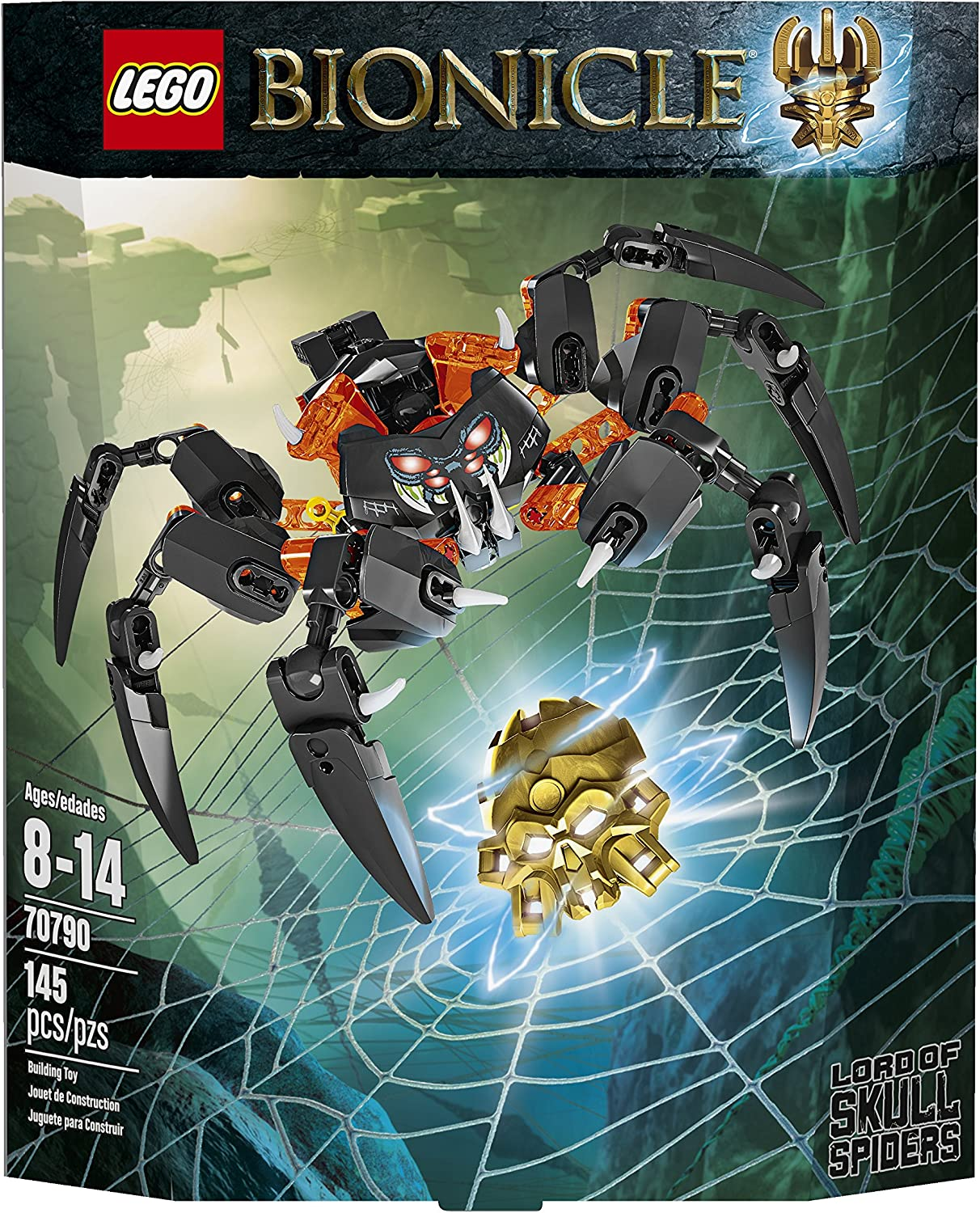 LEGO Bionicle Lord of Skull Spiders Toy(Discontinued by manufacturer)