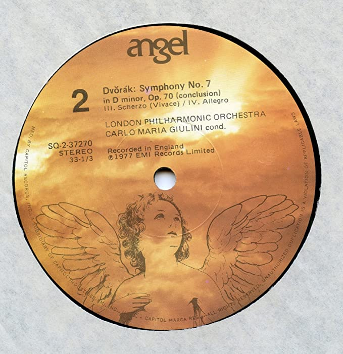 Amazon.com: Dvorák: Symphony No. 7 in D minor, Carlo Maria ...