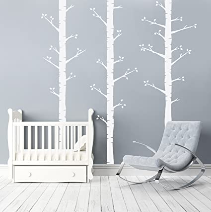 Better Than Paint E116375 Birch Trees, Wall Art Transfer | Fast and ...