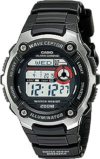 amazon com casio men s wv58a 1avcr waveceptor atomic digital watch rh amazon com Casio Calculator Instruction Manual casio wv-58a manual