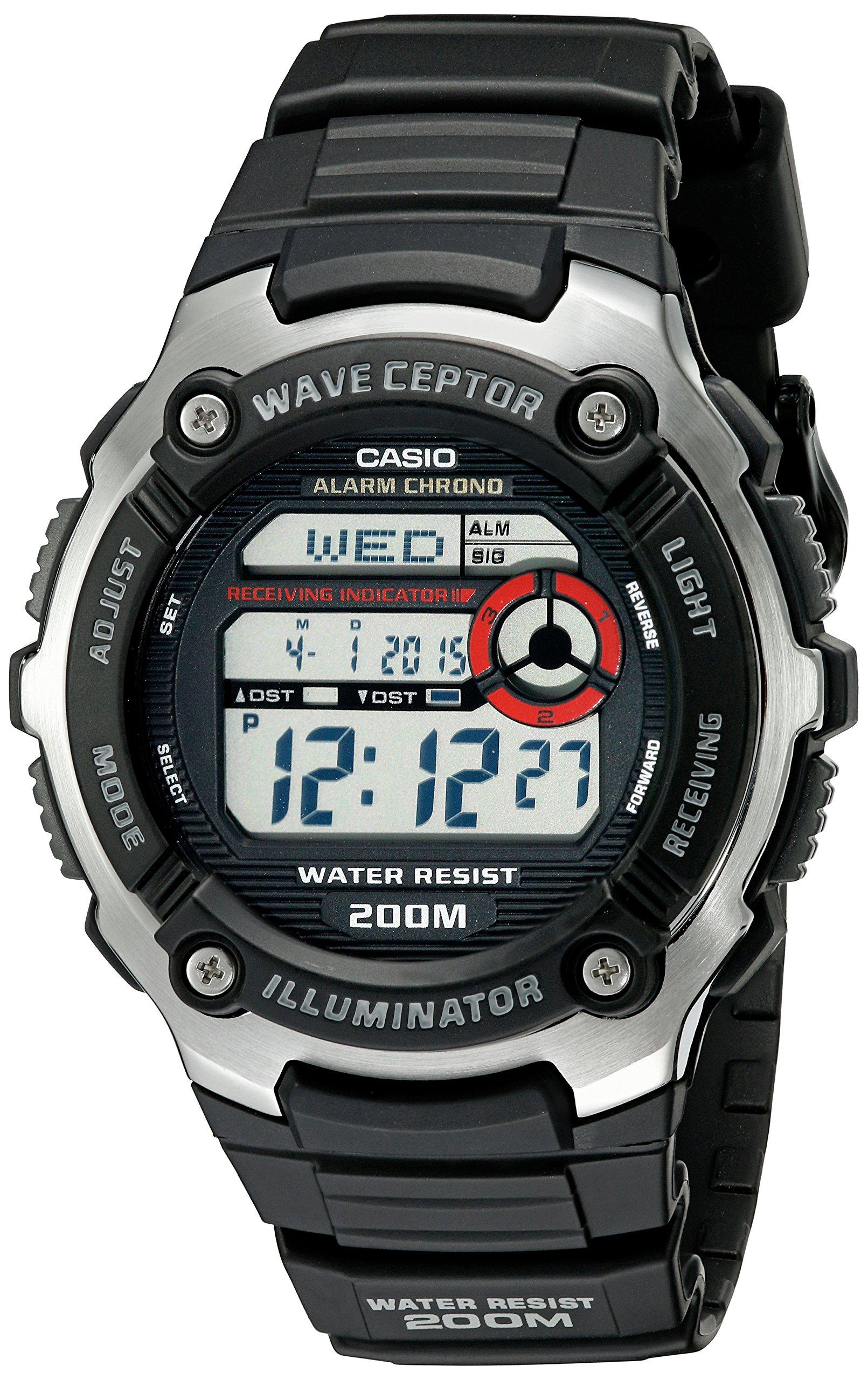 Casio Men's WV200A-1AV Waveceptor Watch with Black Band