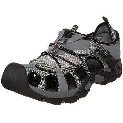 Amazon.com | Mountrek Men's Connley Sandal, Grey/Black, 7.5 M US ...