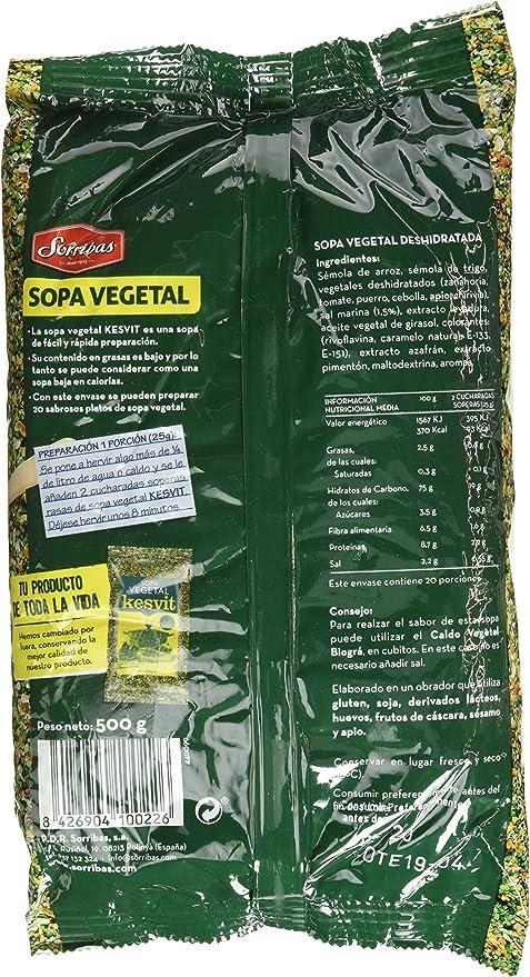 Sorribas Complemento Alimenticio - 500 gr