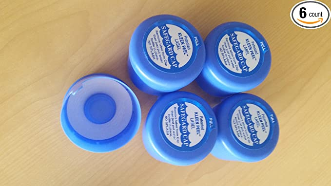 Amazon.com   Water Bottle Cap for 3 or 5 gallons - Non Spill (Quantity of  6) MADE IN USA.   Kitchen Products   Sports   Outdoors bd4e2a567c5f