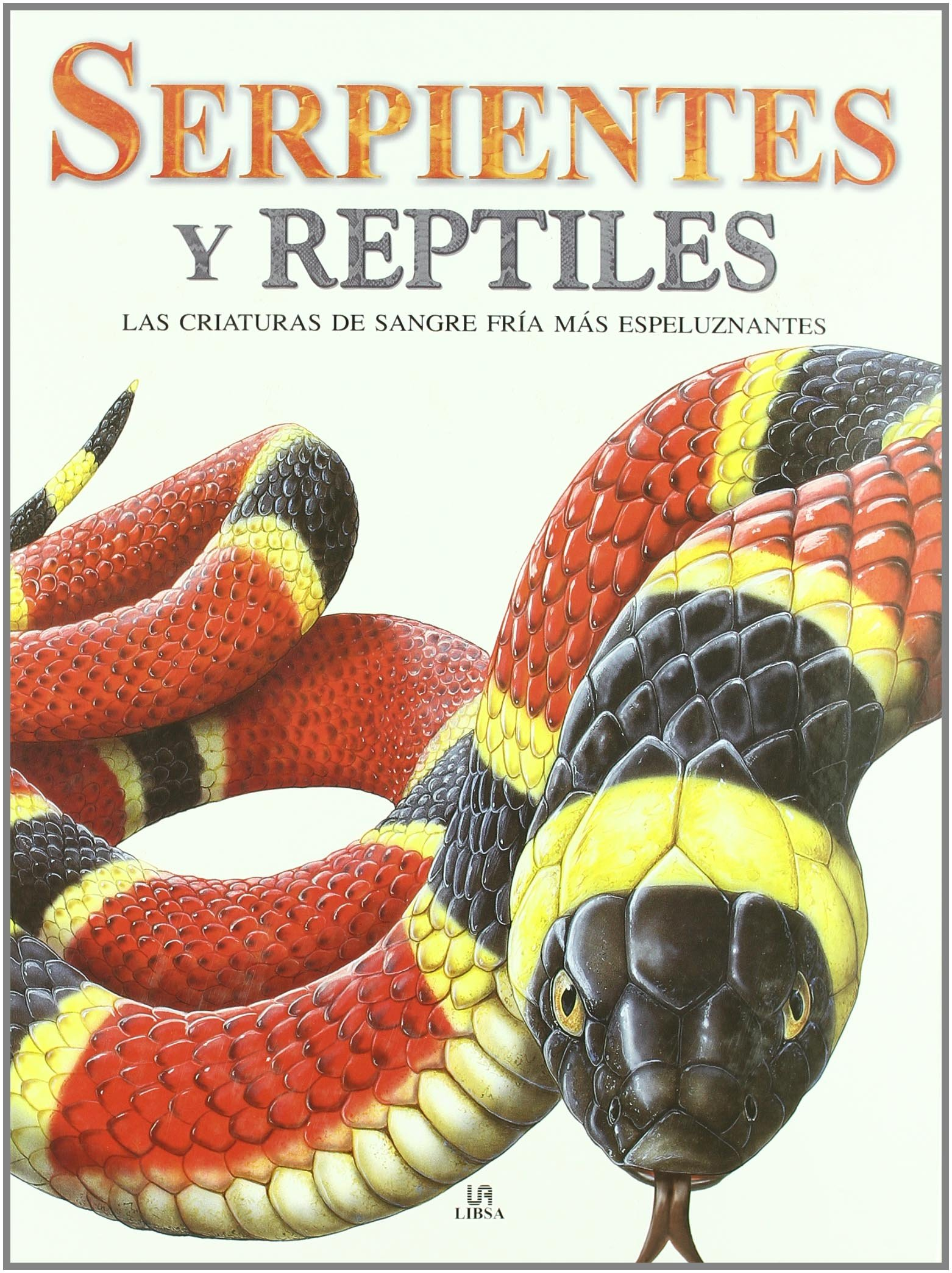 Read Online Serpientes y reptiles / Snakes and Reptiles: Las criaturas de sangre fria mas espeluznantes / The Scariest Cold-Blooded Creatures on Earth (Spanish Edition) pdf