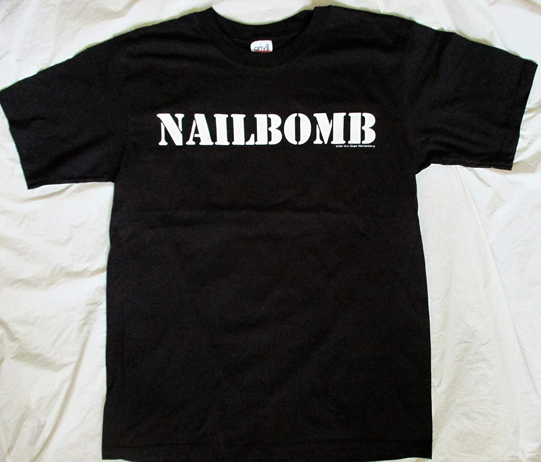 1994 Nailbomb Max Cavalera Concert T Shirt XL X-Large Blue Grape Punk Loser