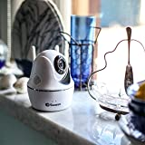 Swann SWWHD-PTCAM-AU Wireless Pan and Tilt Security Camera, 1080p Full HD with 2-Way Audio, Remote Control via App and 15m Night Vision