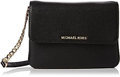 9410278dd7ca MICHAEL Michael Kors Women's Bedford Cross Body Bag, Black, One Size ...