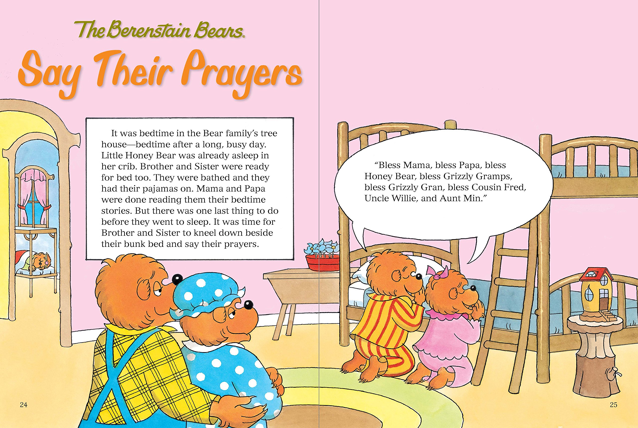 The Berenstain Bears 5-Minute Inspirational Stories: Read-Along Classics (Berenstain Bears/Living Lights) by HarperCollins Christian Pub.