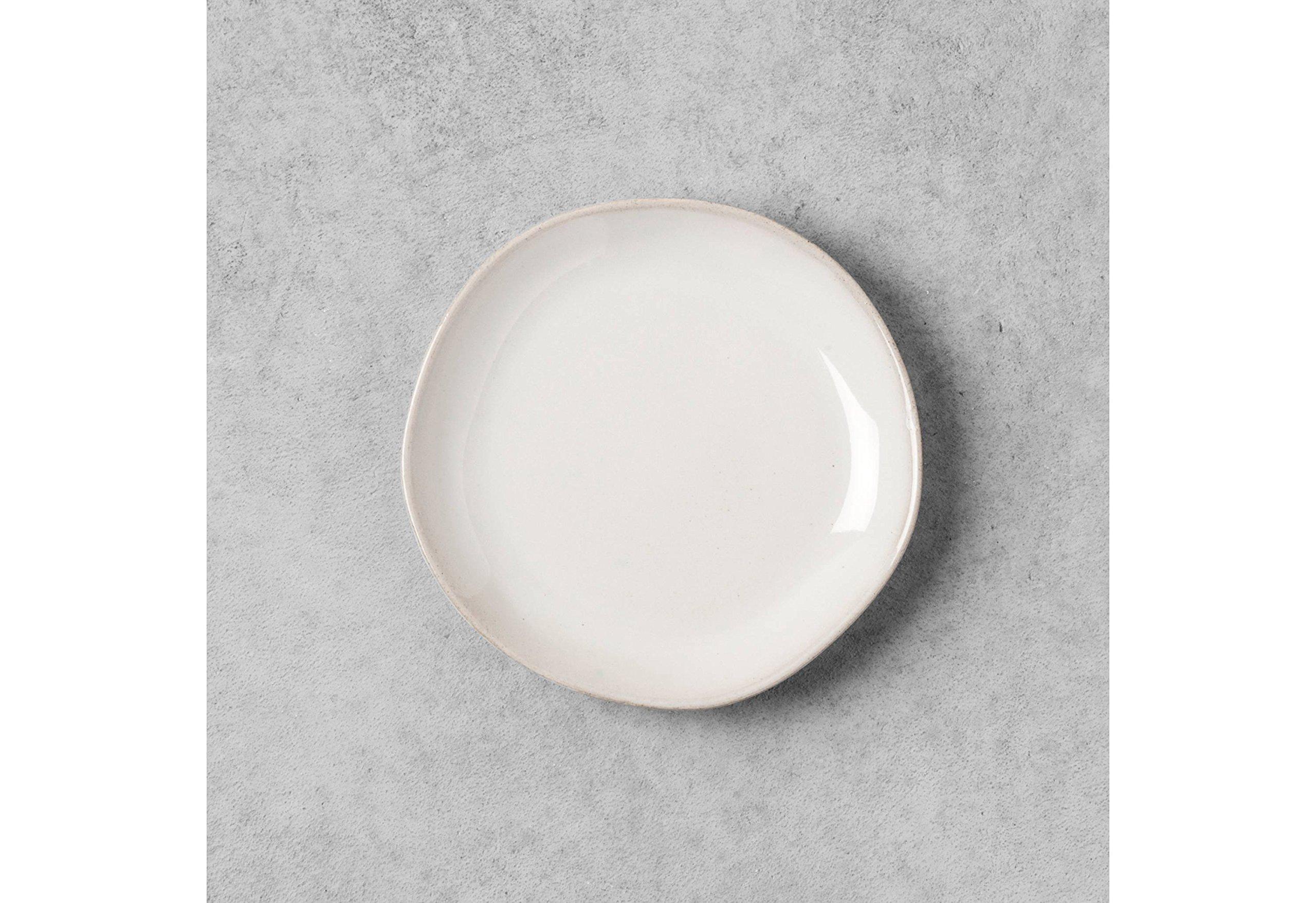 Stoneware White Bread Plate - Hearth & Hand with Magnolia