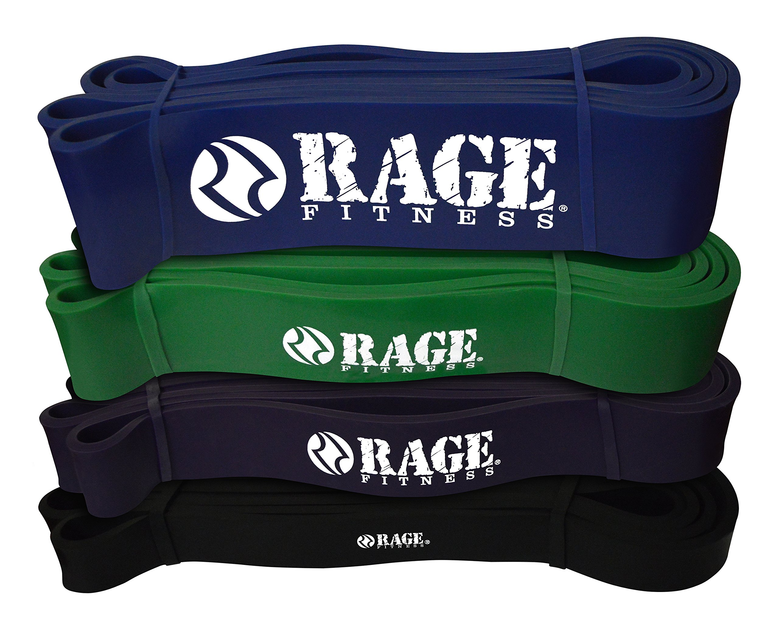 RAGE Fitness Pull Up Assist Band, Mobility Band, Stretching Band, Powerlifting Band, Ideal for Resistance Training by Rage Fitness (Image #2)
