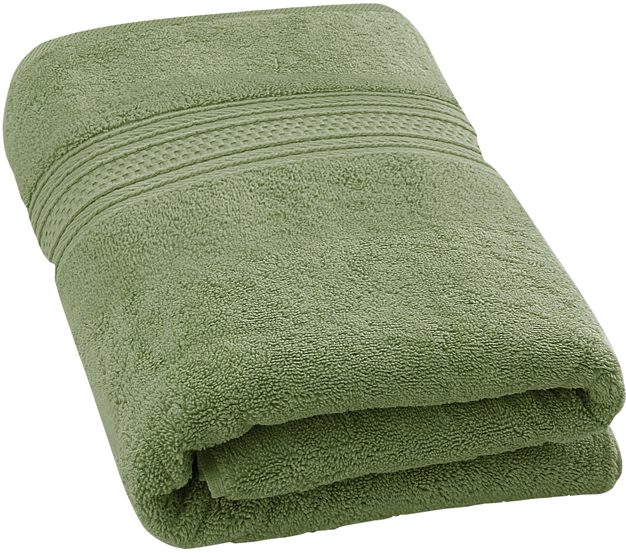 Utopia Towels 700 GSM Premium Cotton Bath Towel (Sage Green, 27 x 54 inches) Luxury Bath Sheet Perfect for Home, Bathrooms, Pool and Gym Ring-Spun Cotton