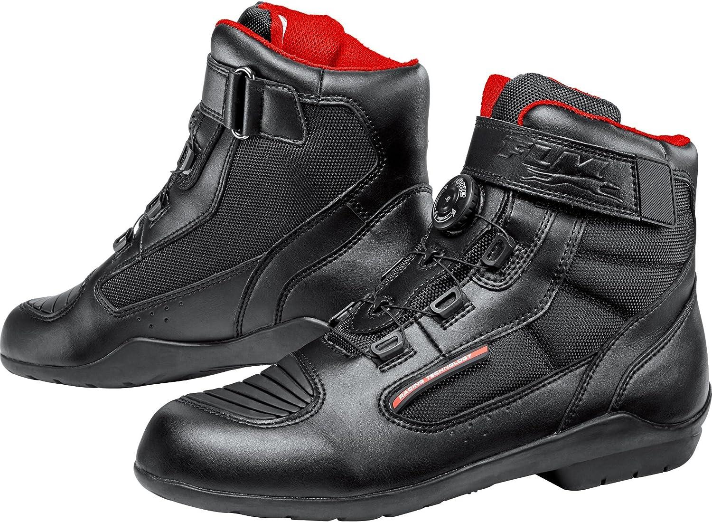 Toute lann/ée FLM Chaussures de Moto Hommes et Femmes Bottes de Moto Chaussures Sport imperm/éable 1.1 Unisexe Sportler