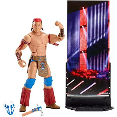 WWE Elite Collection Tatanka Action Figure: Toys & Games [5Bkhe0500673]