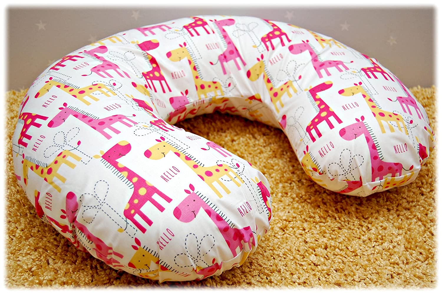 Cotton Cover for Multipurpose Breast Feeding MATERN​ITY Nursing Pillow Cover ONLY (17) EmJoyShop