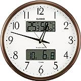 カシオ 温度・湿度計付き生活環境お知らせ掛時計 ITM-650J-5JF