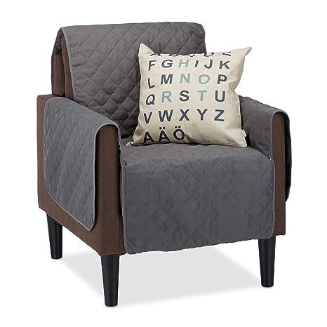 Relaxdays Funda para sofás de una Plaza, Protector ...
