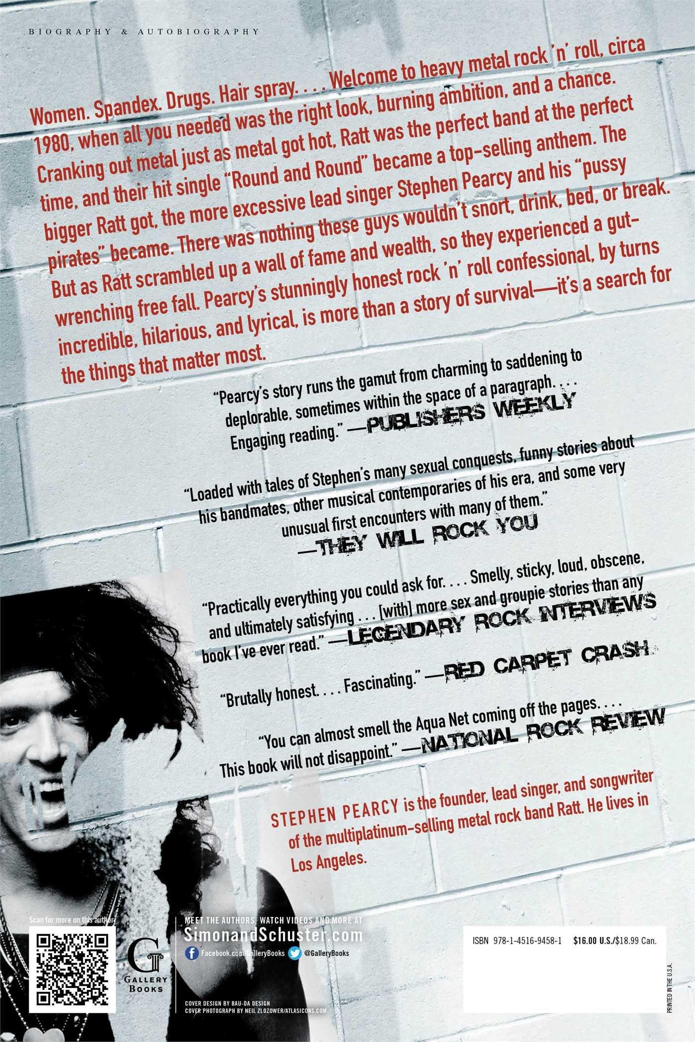Sex, Drugs, Ratt & Roll: My Life In Rock: Stephen Pearcy, Sam Benjamin:  9781451694581: Amazon: Books