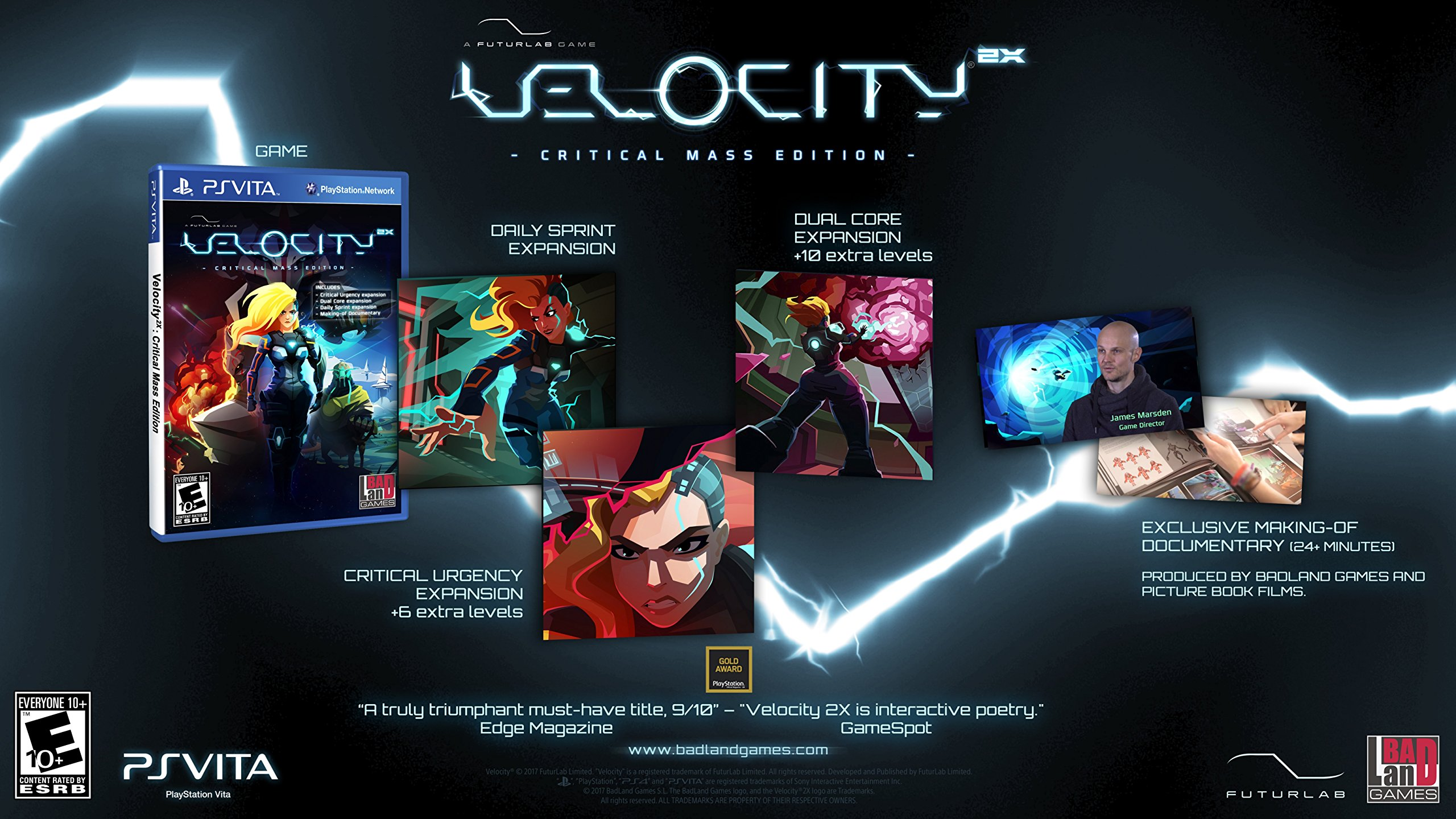 Velocity 2X: Critical Mass Edition - PlayStation Vita