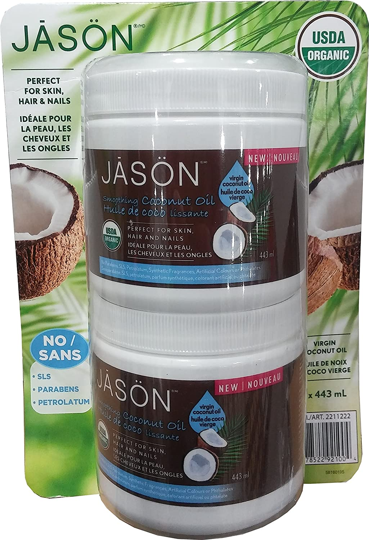 Jason virgin coconut oil, 886ml