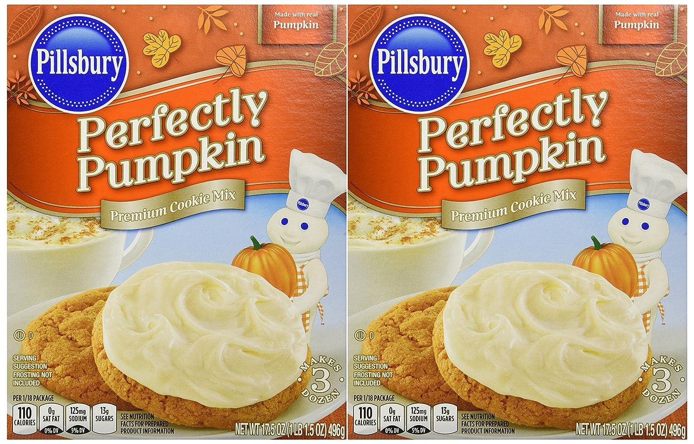 Pillsbury Perfectly Pumpkin Premium Cookie Mix (2 Pack)