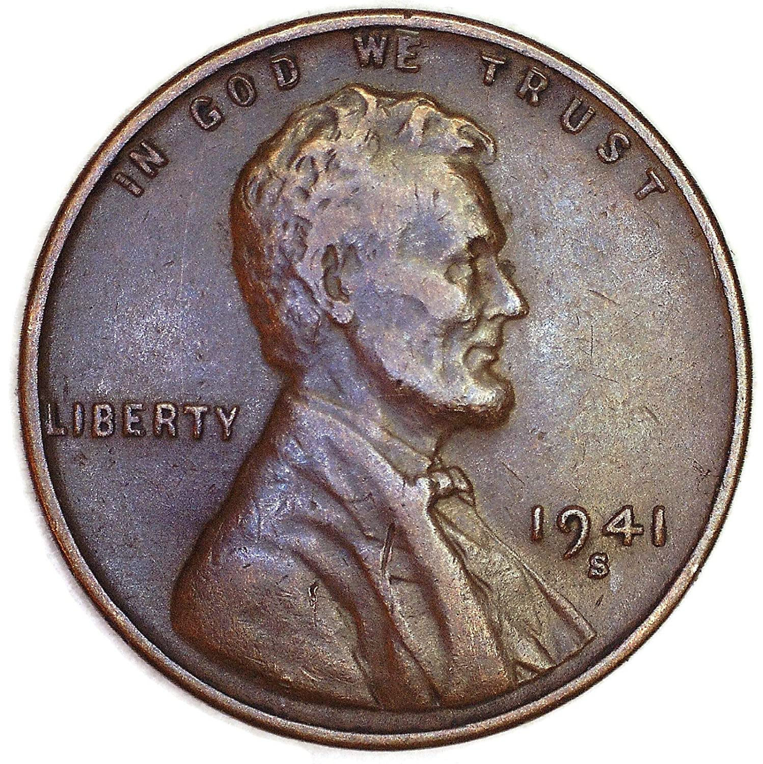 1941 S Lincoln Wheat Penny Good At Amazon S Collectible Coins Store,Using Vinegar In Laundry