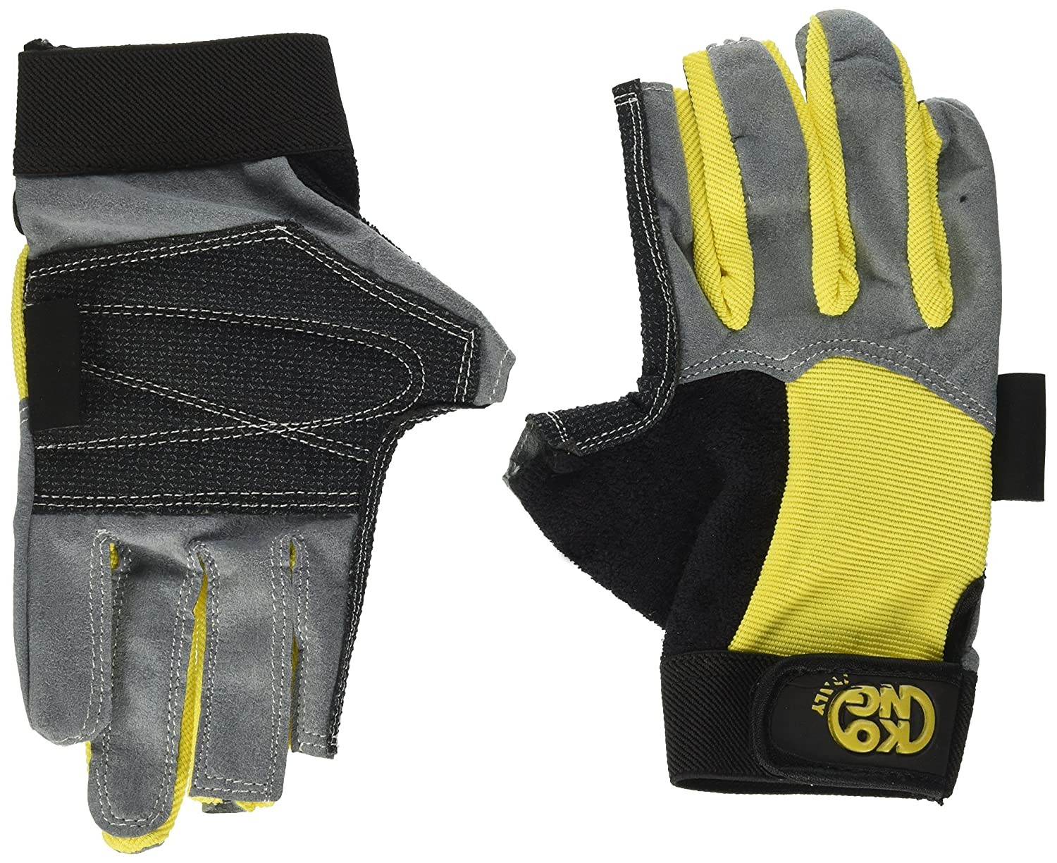 Alex Gloves Giallo KONG Guanti ferrata Alex Gloves Mod
