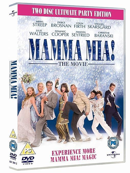 Mamma Mia! Special Edition 2 Discs Edizione: Regno Unito Reino ...