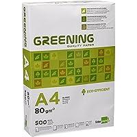 Liderpapel Greening - Papel Fotocopiadora, A4, 80 Gramos