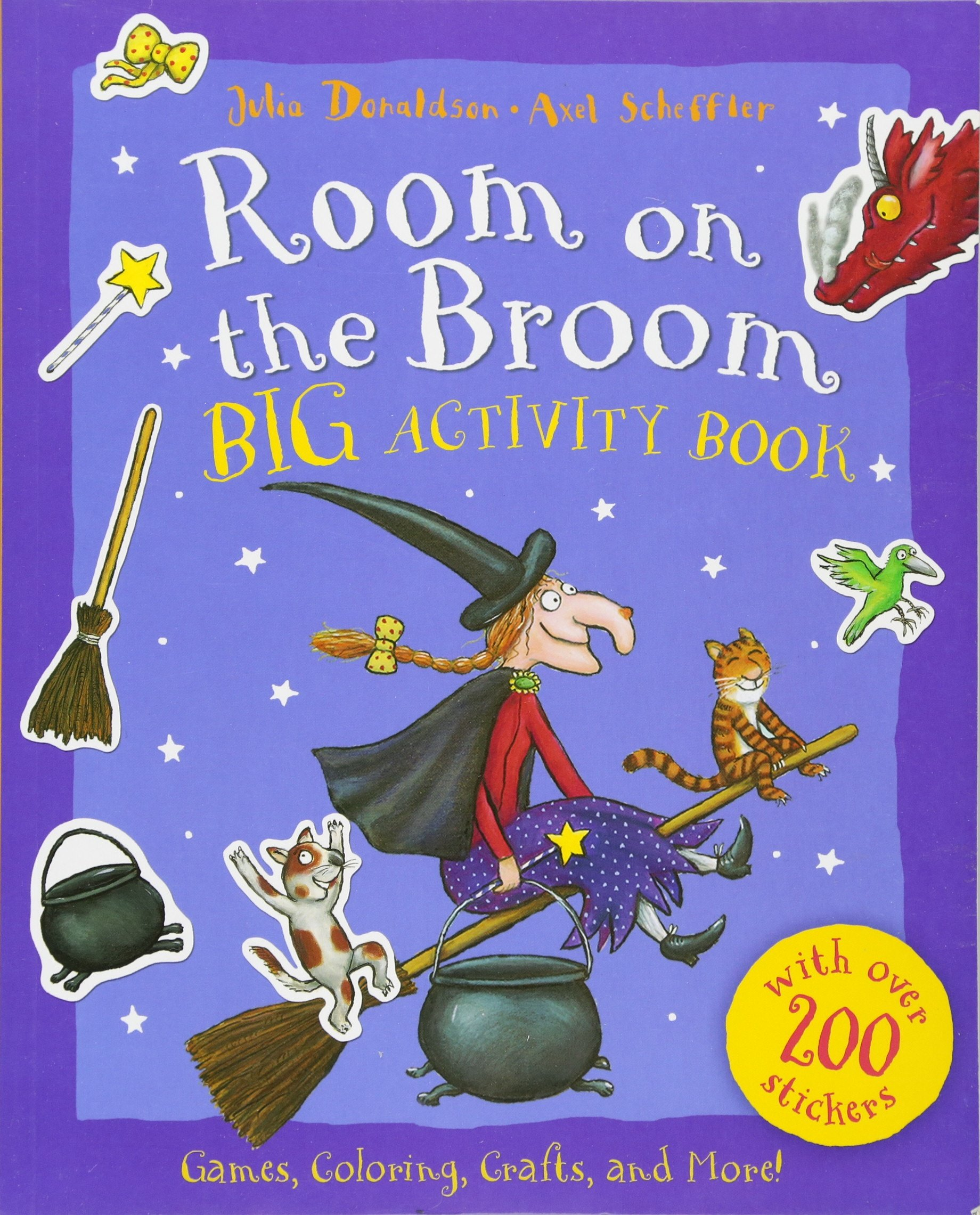 Room On The Broom Big Activity Book Part 92