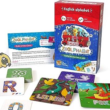 Juego de Mesa Familiar Educativo para niños de 4 y más, Juego de Scrabble para 8 y más: Amazon.es: Juguetes y juegos