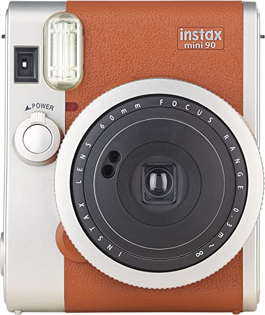 160 opinioni per Fujifilm Instax Mini 90 Brown Fotocamera Istantanea per Stampe Formato 62 x 46