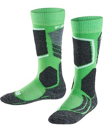 FALKE calcetín de esquí Infantil SK 2 Kids, otoño/Invierno, Infantil, Color
