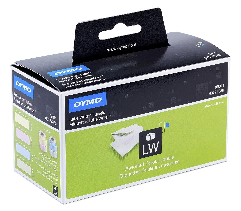 Dymo S0722520 LabelWriter Large Return Address Labels, Self-Adhesive, 25 x 54 mm, Roll of 500 - Black Print on White B0029RXLC6