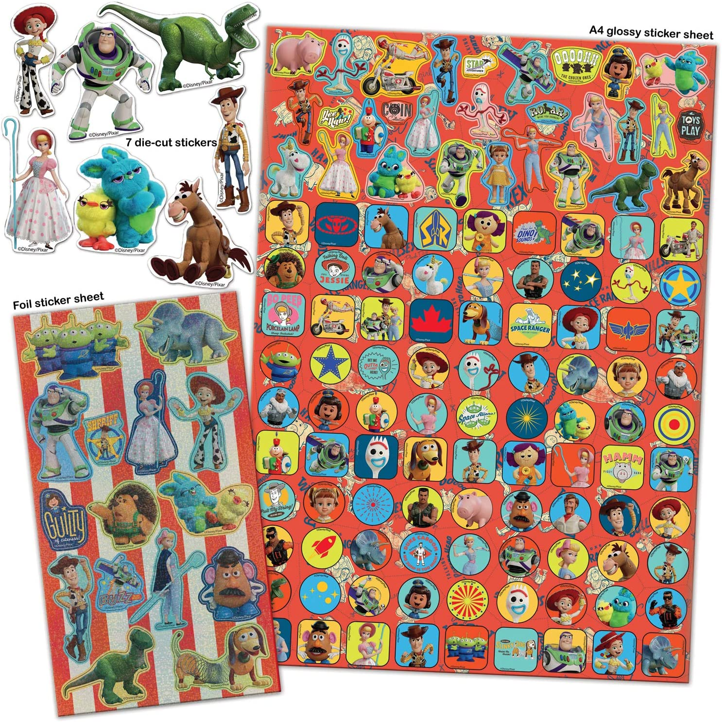 Paper Projects Disney Frozen High Quality Character Foiled Stickers Age 3-4+