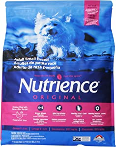 Nutrience Original Adult Chicken Meal With Brown Rice Recipe Dog Food, 18-Pound Bag